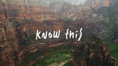 Know This on Vimeo