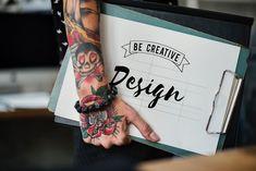 interessante Designer-Handwerker-Fotos · Pexels · freie Aktienfotos - the designer handyman - Tattoo-Ideen Henna Tattoos, Finger Tattoos, Sleeve Tattoos, Tool Design, Ux Design, Creative Design, Creative Ideas, Design Ideas, Tattoos In The Workplace