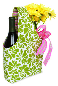 Create a wine tote in about 30-miniutes of time.