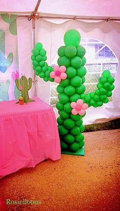 House Party Decorations Balloons Ideas – # Decorations # Ideas – - new site Mexican Birthday Parties, Mexican Fiesta Party, Fiesta Theme Party, Party Party, Cactus Balloon, Fiesta Party Decorations, Mexican Decorations, Baby Shower, Llama Birthday