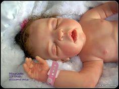 My silicone/vinyl mix baby  -full body Henrietta