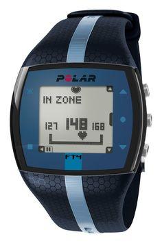 AmazonSmile: Polar FT4 Heart Rate Monitor, Unisex (Blue/Blue): Electronics