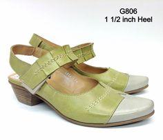 Green Bone Fidji Handmade Italian Leather Shoes crafted in Portugal Style #G806 #Fidji #Slingbacks