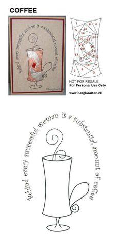 Iris Fold Coffee Cup