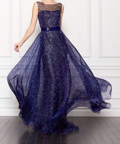 """queenlovett: """" notordinaryfashion: """"  Carolina Herrera """" that is a magical dress made out of the night sky and stars. no one can tell me different """""""