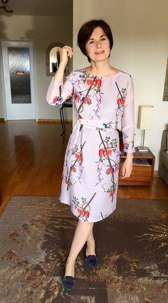 Sukienka z jedwabiu włoskiego😊