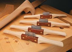 Shop-made Custom Scraper Shaves | Get the full step-by-step plans from Woodsmith Plans