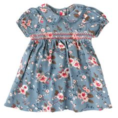 Trailing Rose Baby Dress