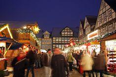 Weinachtszeit in Celle: Weihnachtsmarkt in der Altstadt