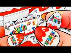 How To Make a Miniature KINDER Surprise Eggs Pack? DIY Doll Tutorial ♥ - YouTube