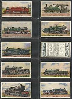 New Zealand Railways Cigarette Cards