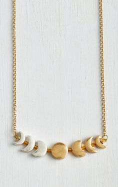 Phase Gone By Necklace
