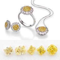Yellow sunshine by Eran diamonds