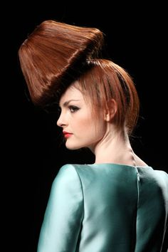 More Weird Runway Hair (This Time From Rome Fashion Week)