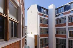 Marc Younan architectes, conversion of an industrial building into social housing, Paris, 2016. Photo Pierre l'Excellent