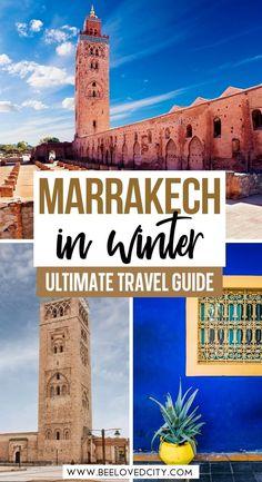 marrakech in december travel guide Marrakech Travel, Morocco Travel, Africa Travel, Travel Usa, Places To Travel, Travel Destinations, Places To Go, Marrakech In December, Viajes