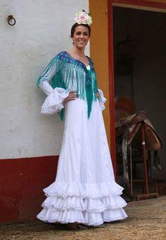 Vestido blanco Rocío Peralta