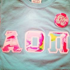AOII Lilly Letters!