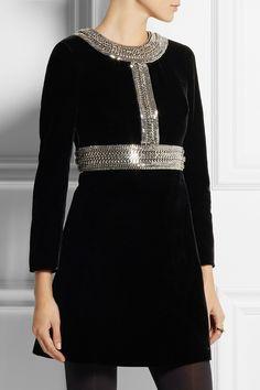Robe romy noir robe femme claudie pierlot acheter for Robes de mariage en consignation seattle