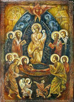 Mary Jesus Mother, Mary And Jesus, Blessed Mother, Religious Images, Religious Icons, Religious Art, Byzantine Icons, Byzantine Art, Transfiguration Of Jesus