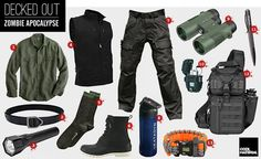 Decked Out: Zombie Apocalypse : The Gear You'll Need and Where to Get It : Cool Material