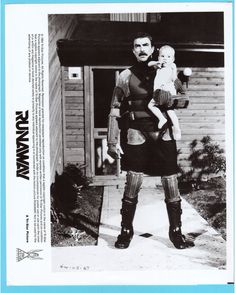 Runaway Tom Selleck Movie Film Publicity Press Photo | Collectibles, Photographic Images, Contemporary (1940-Now) | eBay!