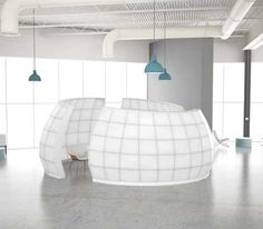 Collaboration Space Mobile Walls • Mobile Walls --> makes room dividers look like.....ehhhh