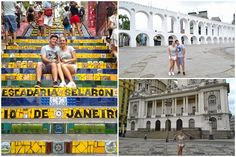 Escadaria Selaron e Arcos da Lapa - RJ