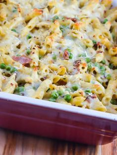 Cheesy Chicken Bacon Ranch Pasta ~ http://FlavorMosaic.com