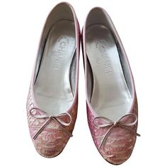 Pre-owned - Exotic leathers flats Chanel tHpIK7dxbS