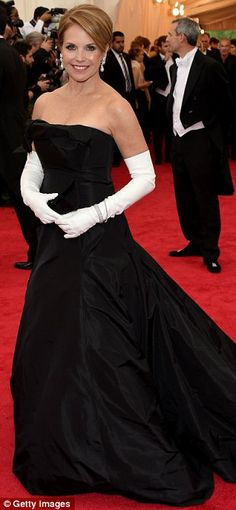 It's all in black and white: Also following the trend were (L-R) Erykah Badu, Gugu Mbatha-...
