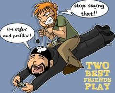 matt and pat, two best friends play- by Brian12 on Deviant Art