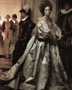 Coco Rocha as Juliet in 'Love of a Lifetime' photographed by Annie Leibovitz for Vogue US December 2008