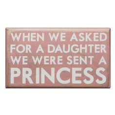 Princess Wall Décor  $7.95