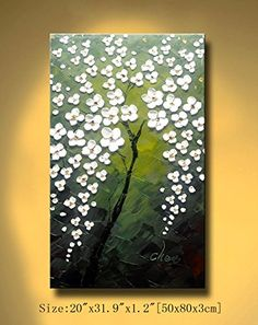 Flower Painting, Modern Landscape Painting, Contemporary Wall Art, Painting, Texture Painting, Canvas Painting, Texture Painting On Canvas, Palette Knife Painting, Pictures To Paint