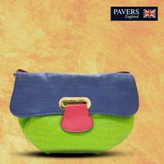 A range of bright coloured, super light handbags that define your femininity & subtlety. Rush to a #PaversEngland outlet now!