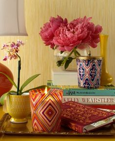 Boho Candle Pots from Site.
