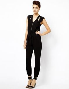 61179958e43 Warehouse Cut Out Jumpsuit Saved Items