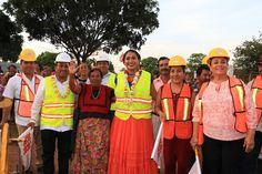 Tehuantepec tiene como presidenta municipal a una mujer comprometida con su gente, reconoce Diputado Federal