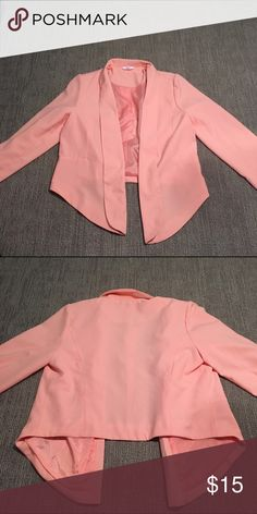Candie's Blazer Candie's Blazer. Size L. Fitted. Lightweight. Worn once for an event. Excellent condition. Candie's Jackets & Coats Blazers