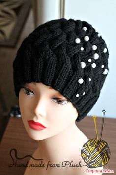 Всем привет Как и обещала, выкладываю описание шапки-плетенки и кое-какие наработки и хитрости в вязании оной.