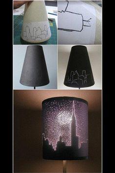 DIY lamp!