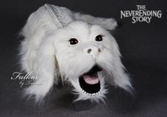 LOVE! Falkor plush dragon from The Neverending Story.  Found this on etsy: TigercubART