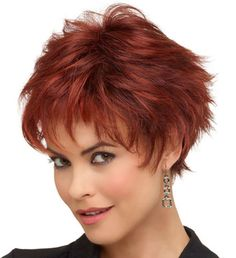 Short Sexy Cute Red Haircut (I know, not a faux hawk, but this would work with your hair.)