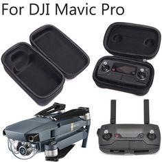 DJI Mavic Pro Foldable Drone Body & Remote Controller (Transmitter) Bag Hardshell Housing Bag Storage Box Case Accessories