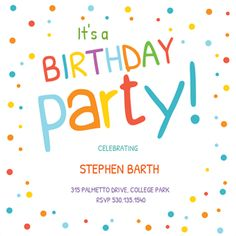 Online Birthday Invitations Templates Prepossessing Dot Strands Printable Invitation Templatecustomize Add Text And .