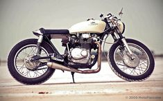 Honda CL350 Cafe Racer by Moto Fiaccone #motorcycles #caferacer #motos | caferacerpasion.com