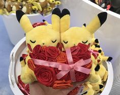 zombiemiki:  February Monthly Pair Pikachu plush!  Confirmed very soft