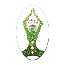 Yoga herbal Decal