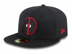 Character Deadpool 59Fifty Fitted Baseball Cap by MARVEL x NEW ERA